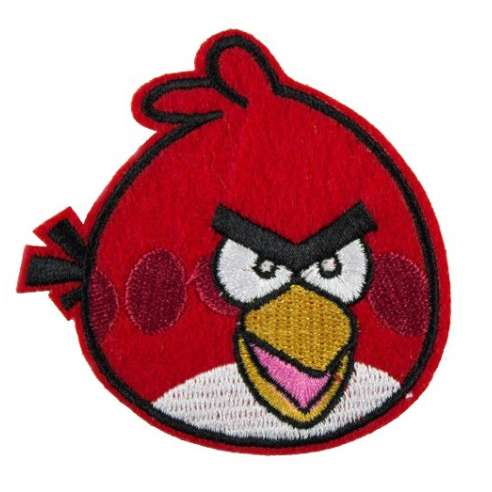 Parche Angry birds - Terence