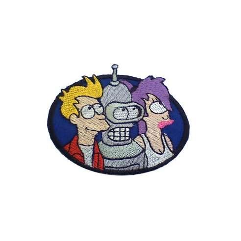 Parche Futurama Trio