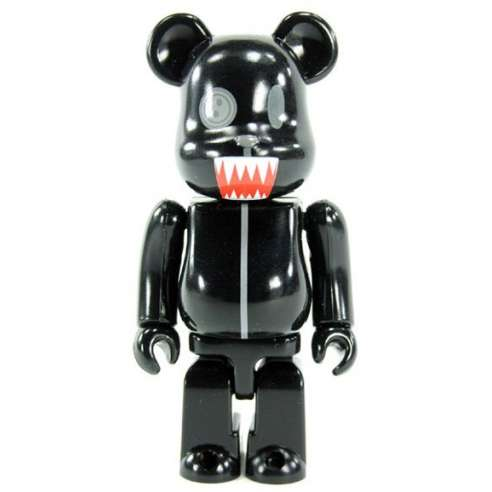 Bearbrick 100% Secreto - Animal Black series 15.