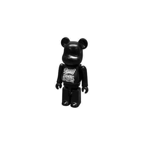 Bearbrick 100% secret Artist series 15. Andy Warhol foundation
