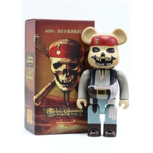 Bearbrick 400% Piratas del Caribe
