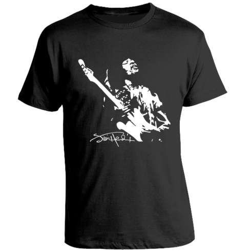 Camiseta Jimmy Hendrix Guitar