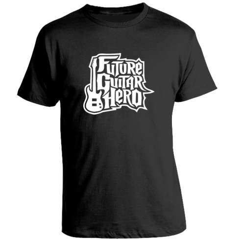 Camiseta Future Guitar Hero