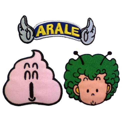 Pack Parches Arale