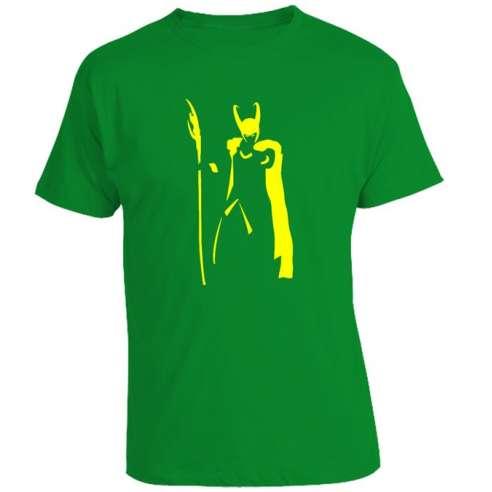 Camiseta Loki Minimal