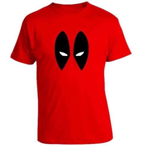Camiseta Deadpool Minimal Face
