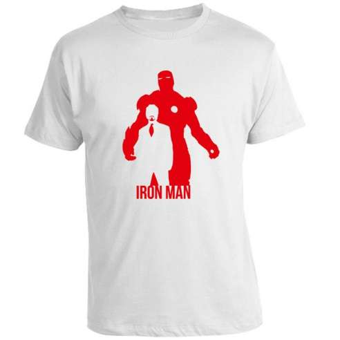 Camiseta Iron Man After Before