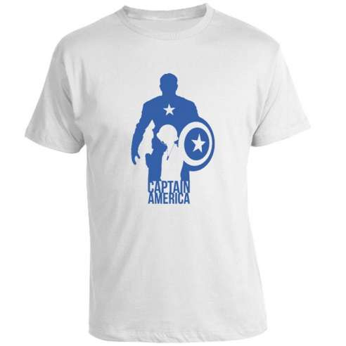 Camiseta Capitan America After Before