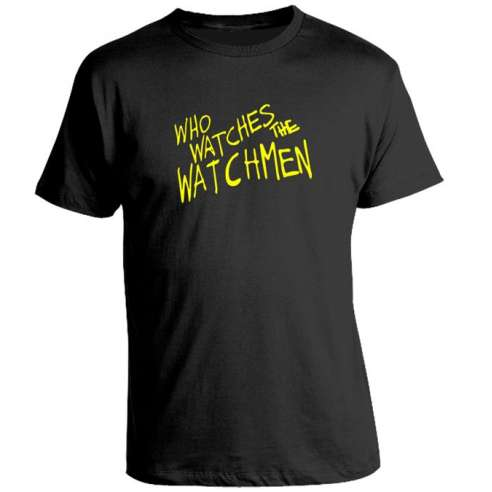 Camiseta Who Watches the Watchmen