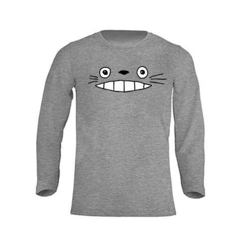 Camiseta Totoro Manga Larga