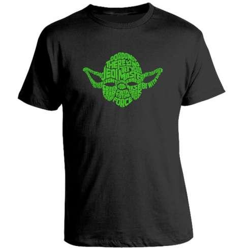 Camiseta Yoda Typo