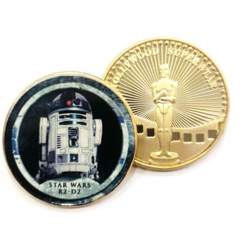 Moneda Star Wars Halcon Milenario