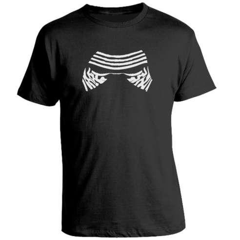 Camiseta Star Wars Mascara Kylo Ren