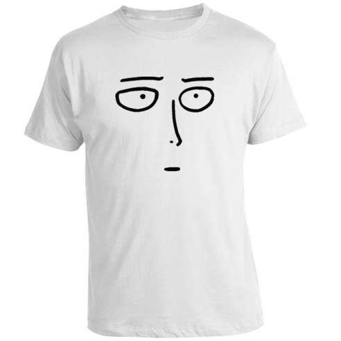 Camiseta One punch man Saitama Face
