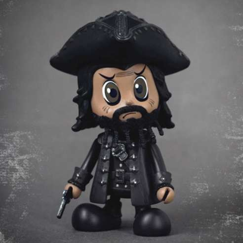 Cosbaby Piratas del Caribe - Blackbeard