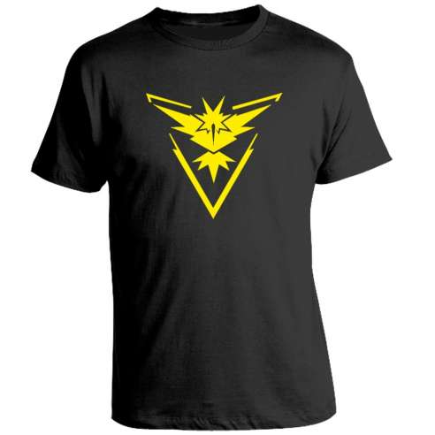 Camiseta Pokemon Go Yellow Team