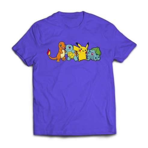 Camiseta Pokemon friends infantil