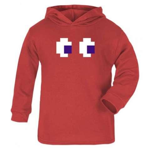Sudadera Comecococs Pacman Rojo