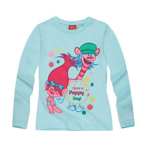 Camiseta Trolls Manga Larga - Have a Poppy Day
