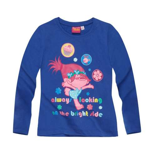 Camiseta Trolls Manga Larga - Bright Side