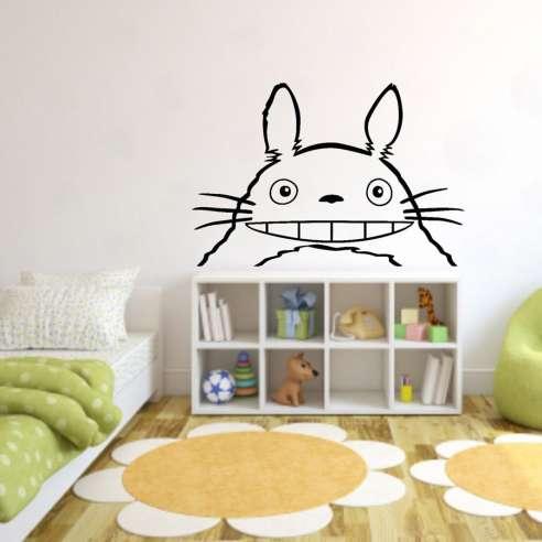 Vinilo Adhesivo Totoro Sonriendo