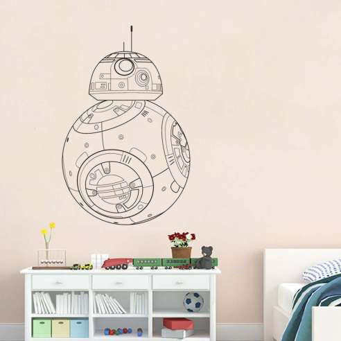 Vinilo Adhesivo Star Wars BB8