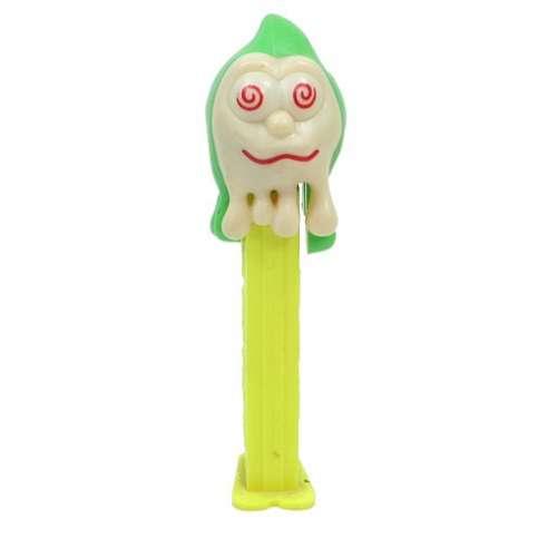 Dispensador caramelos Pez Halloween Fantasma Slimy Sid
