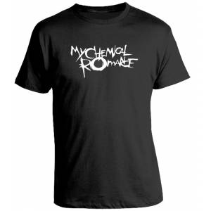 Camiseta My Chemical Romance Logo
