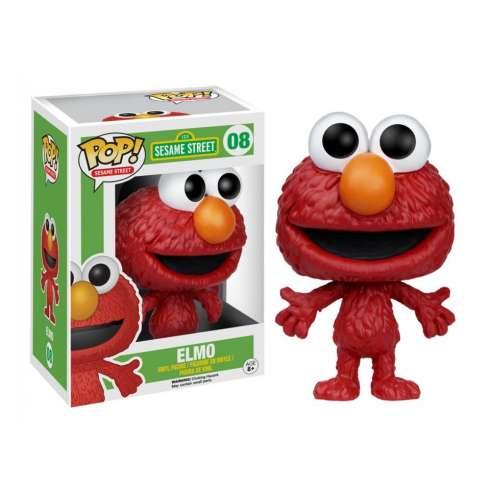 Figura Funko Pop Barrio Sesamo - Elmo