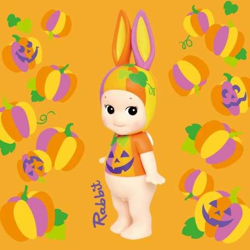 Sonny Angel Artist Collection Halloween Pumpkin Conejo