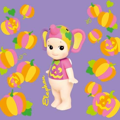 Sonny Angel Artist Collection Halloween Pumpkin Elefante