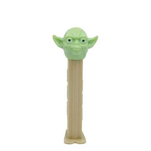 Yoda A Star Wars Dispensador Caramelos Pez