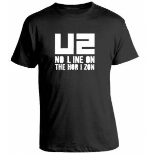 Camiseta U2 No Line On The Horizon