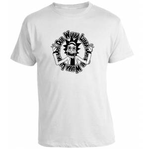Camiseta Rick y Morty Wubba Lubba Dub Dub