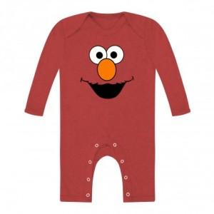 Body Bebe Elmo Manga Larga