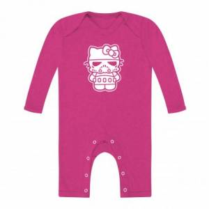 Body Bebe Hello Kitty Trooper Manga Larga