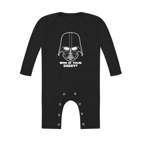 Body Bebe Darth Vader Manga Larga
