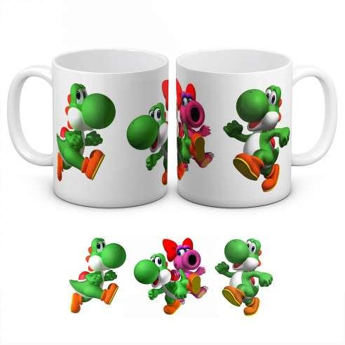 Taza Yoshi Mario Bros