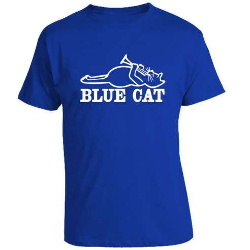 Camiseta Blue Cat Records