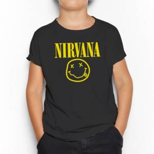 Camiseta Nirvana Infantil