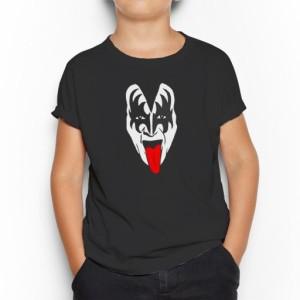 Camiseta Gene Simons Kiss Infantil