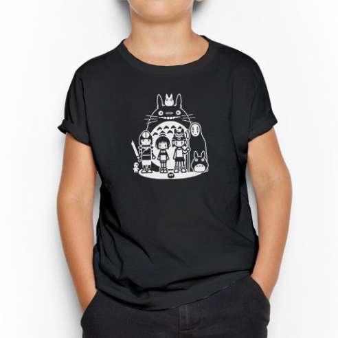 Camiseta Totoro And Friends Infantil