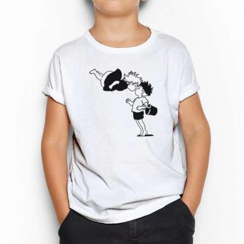 Camiseta Ponyo y Sosuke Infantil