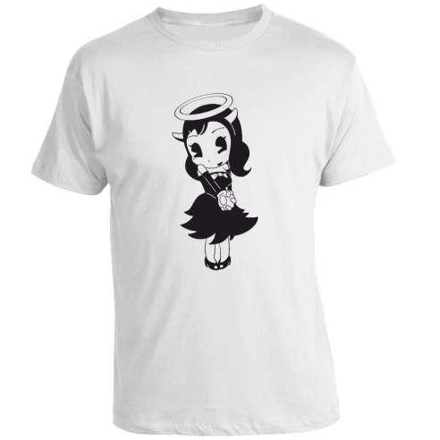 Camiseta Bendy and the Ink Machine Alice Angel