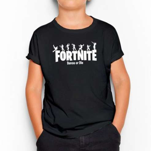 Camiseta Fortnite Dance or Die Battle Royale Infantil