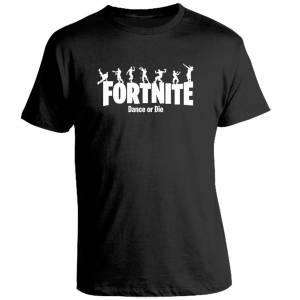 Camiseta Fortnite Dance or Die Battle Royale