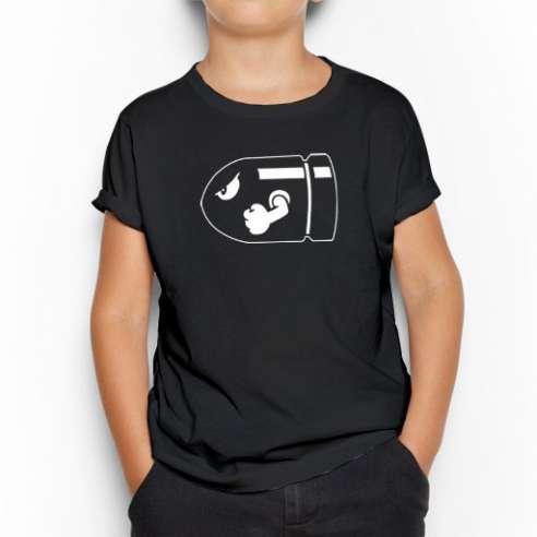 Camiseta Bala Mario Bros infantil