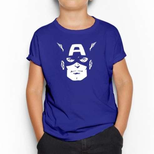 Camiseta Capitan America infantil