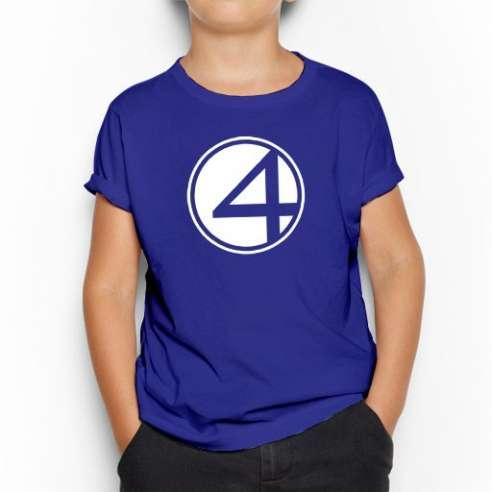 Camiseta Los Cuatro Fantasticos infantil
