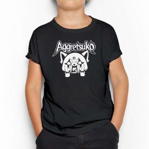 Camiseta Aggretsuko Infantil